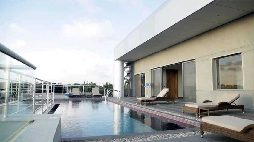 Á‰ Modern Rooftop Apartment Design With Swimming Pool Unique Ideas Decor And Designs