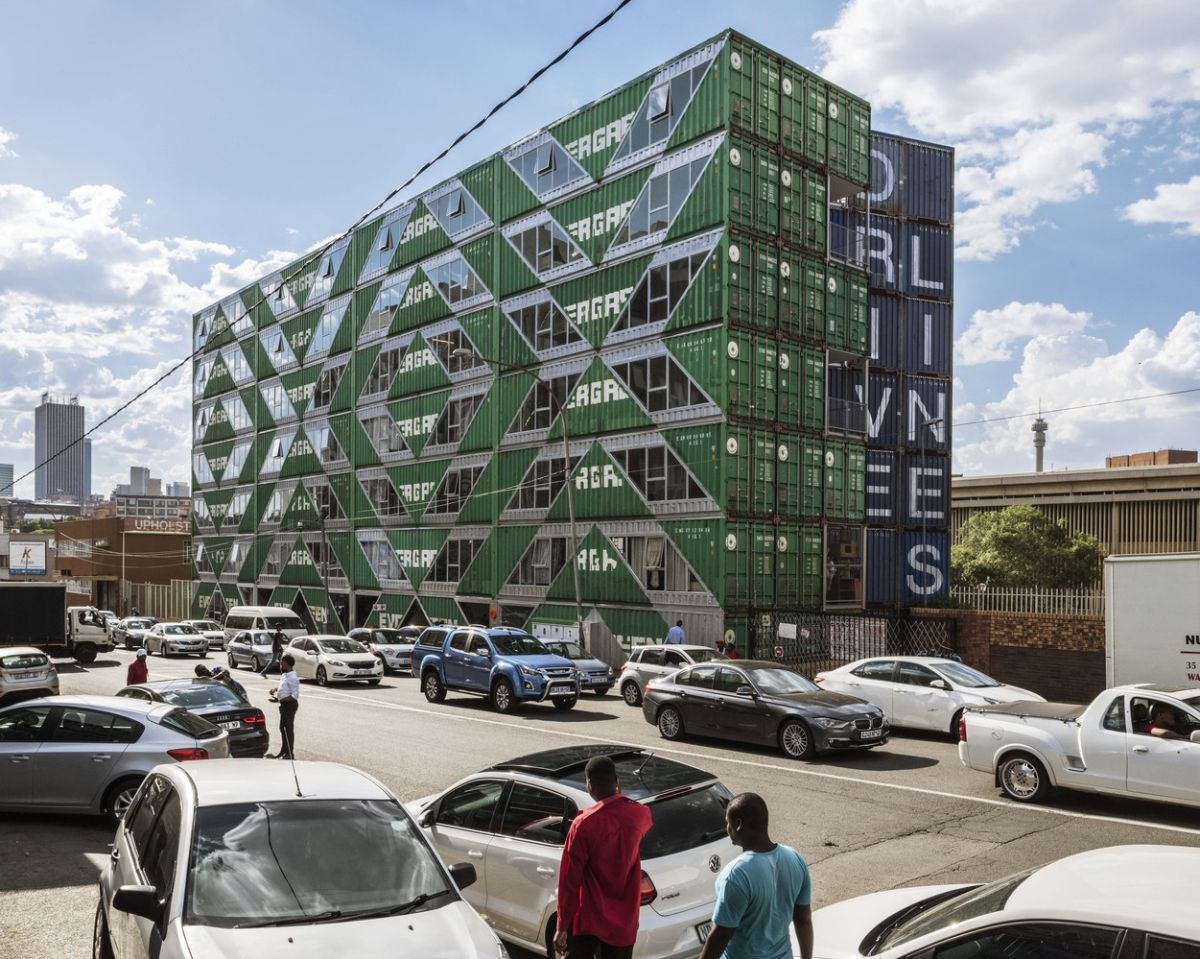 The building has quickly become a local landmark thanks to its unusual design