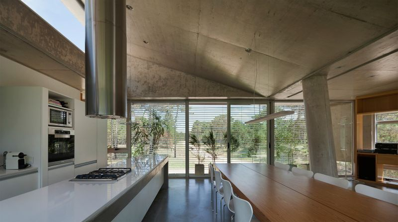 Alamos House kitchen and dining