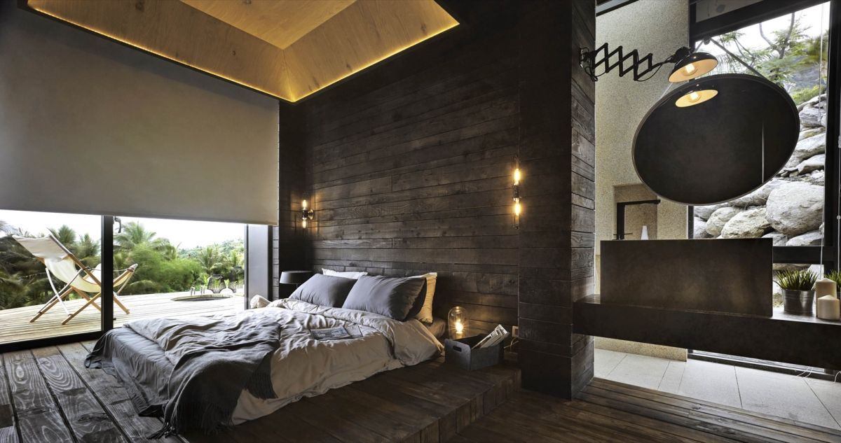 A'tolan house in Taiwan bedroom and bathroom