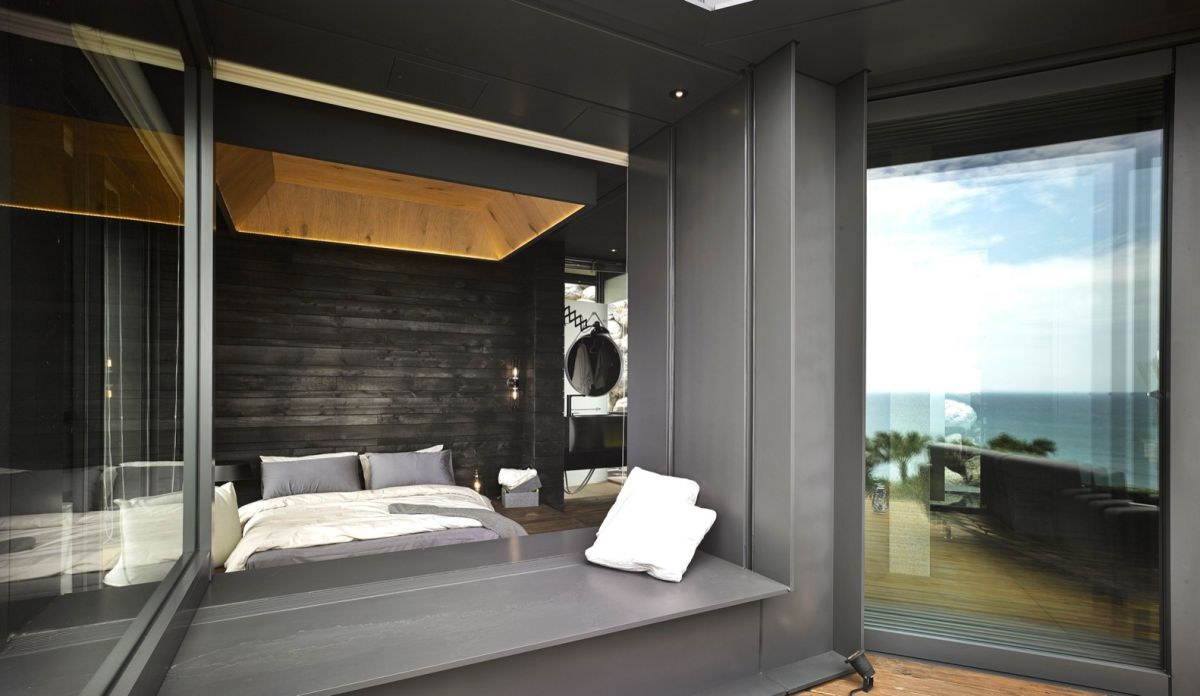 A'tolan house in Taiwan bedroom interior