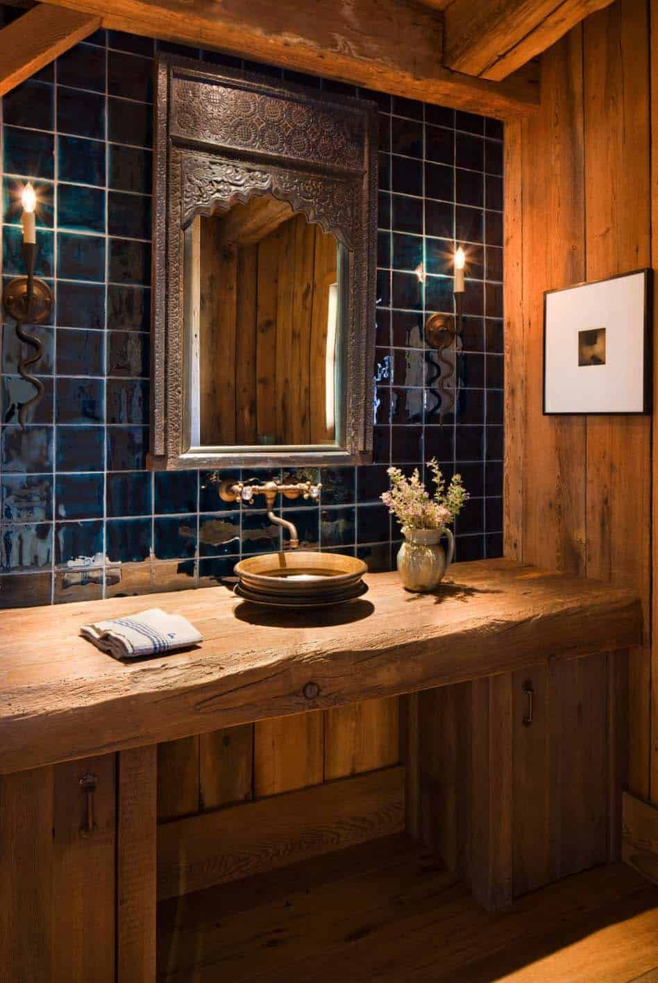The designers put high emphasis on the pure and authentic character of the materials, the wood in particular