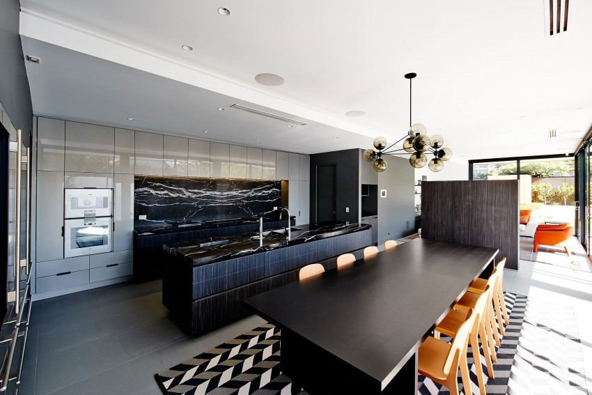 Beaumaris-White-House-kitchen-and-dining-area