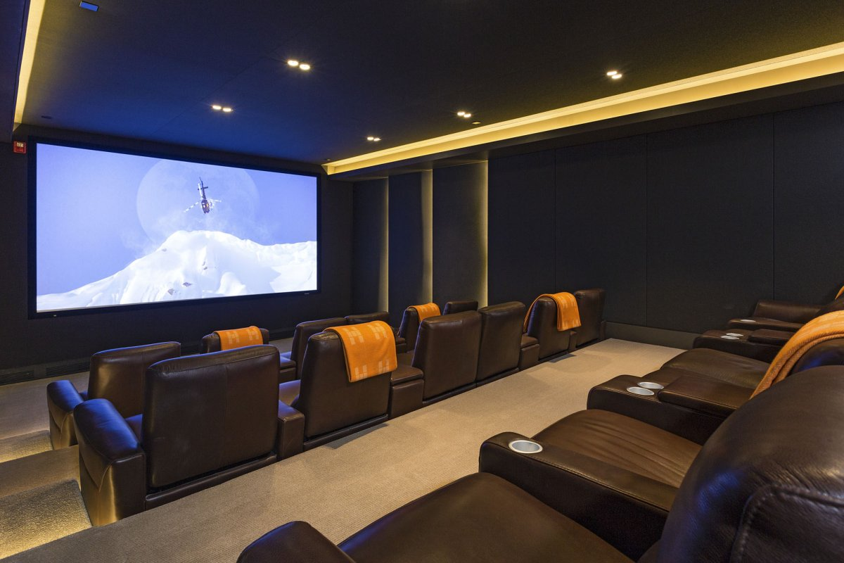 Beverly-Hills-mansion-home-theater