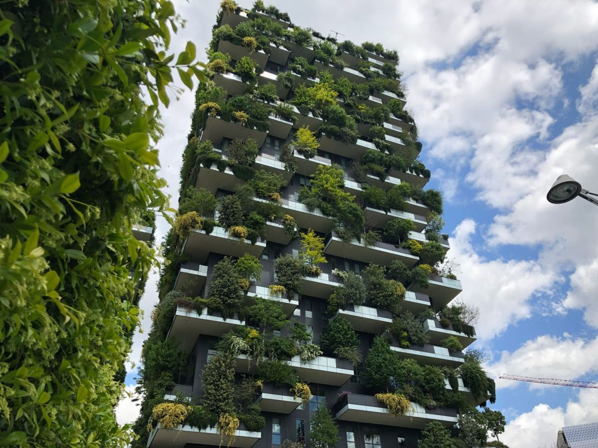 Bosco Verticale translates as Vertical Forest and the project couldn't have a more suitable name
