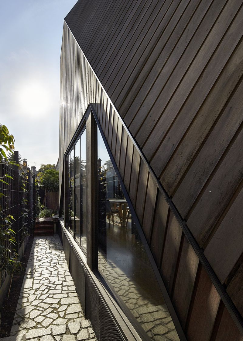 Bower House extension glass walls