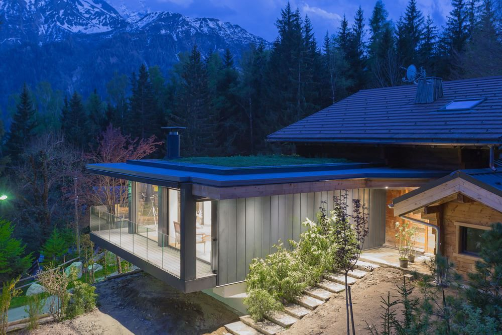 Chalet SOLEYÂ in France architecture overall