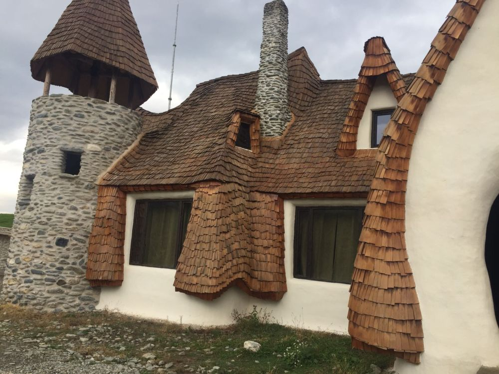Clay castel from Valley of the Fairies Sibiu