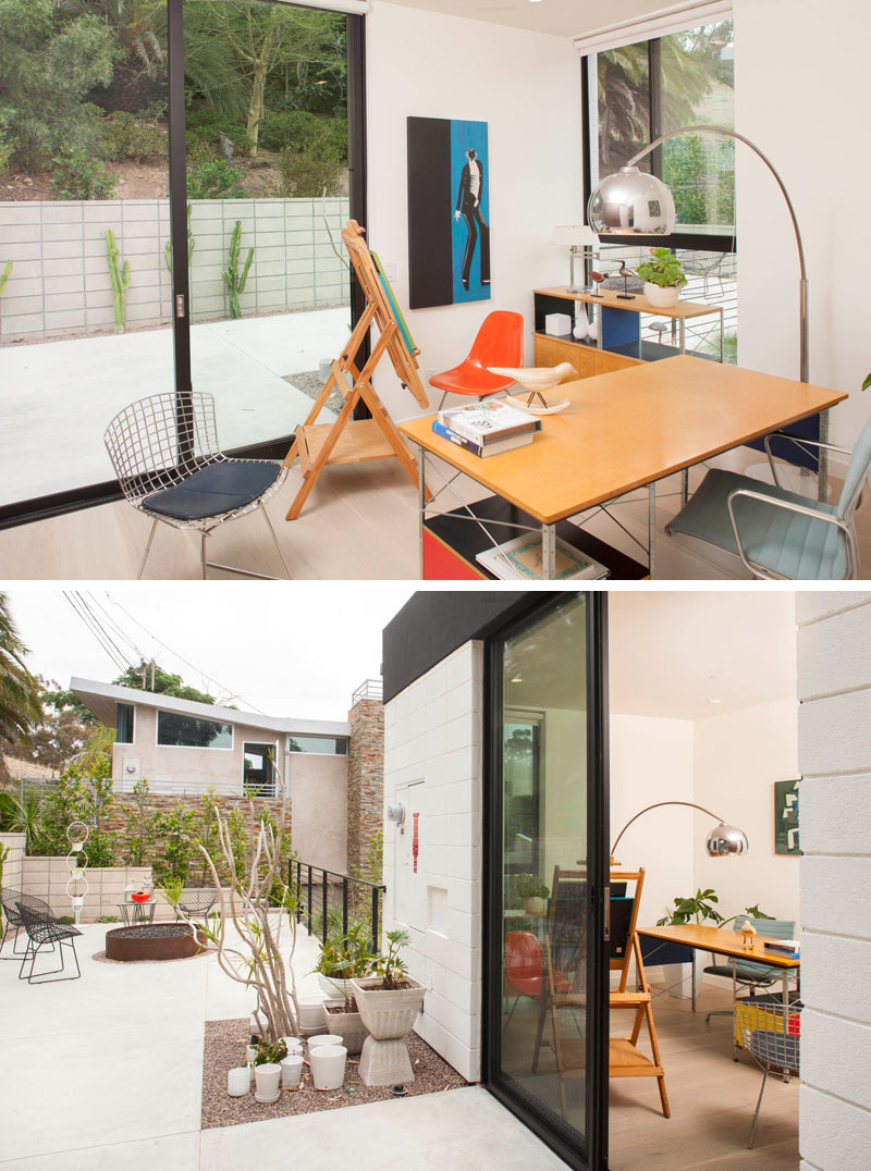 Clea House home office