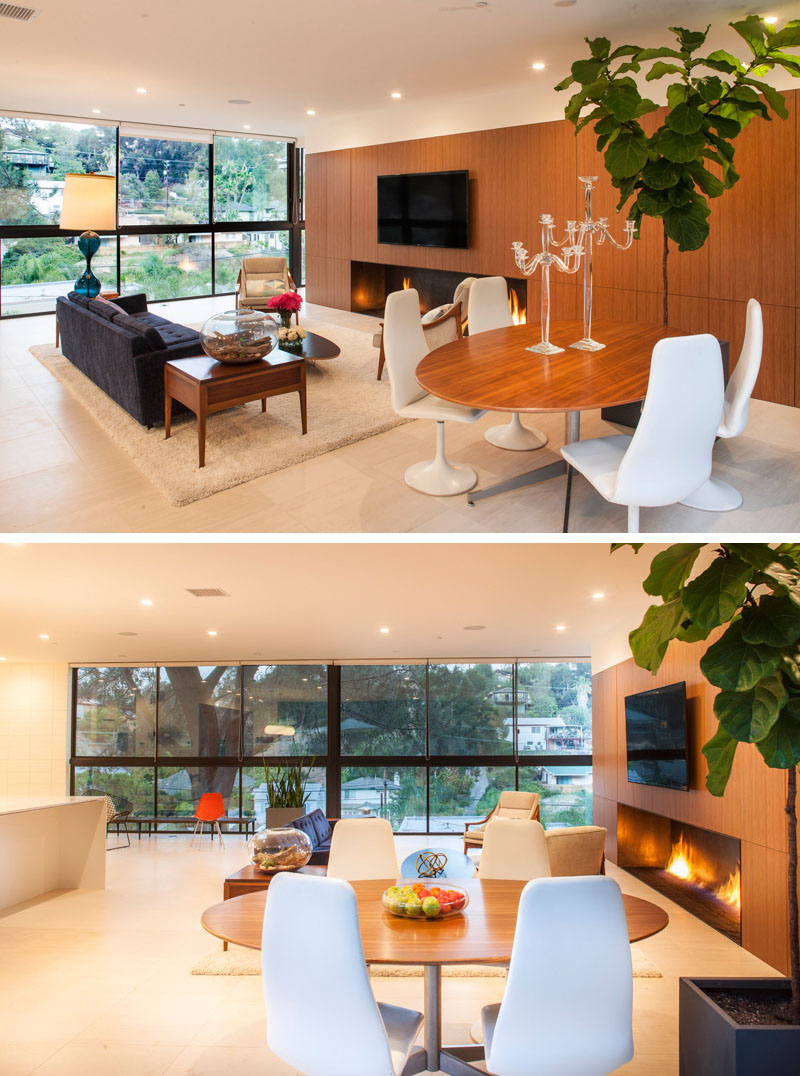 Clea House living and dining areas