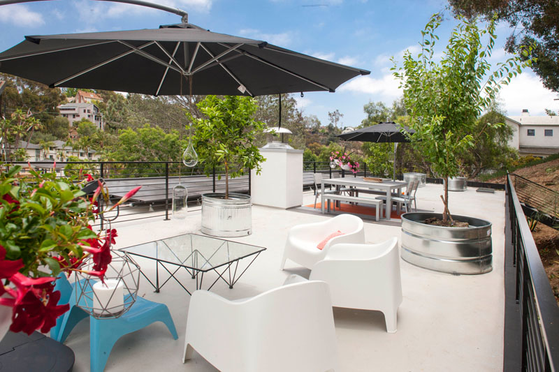 Clea House rooftop terrace