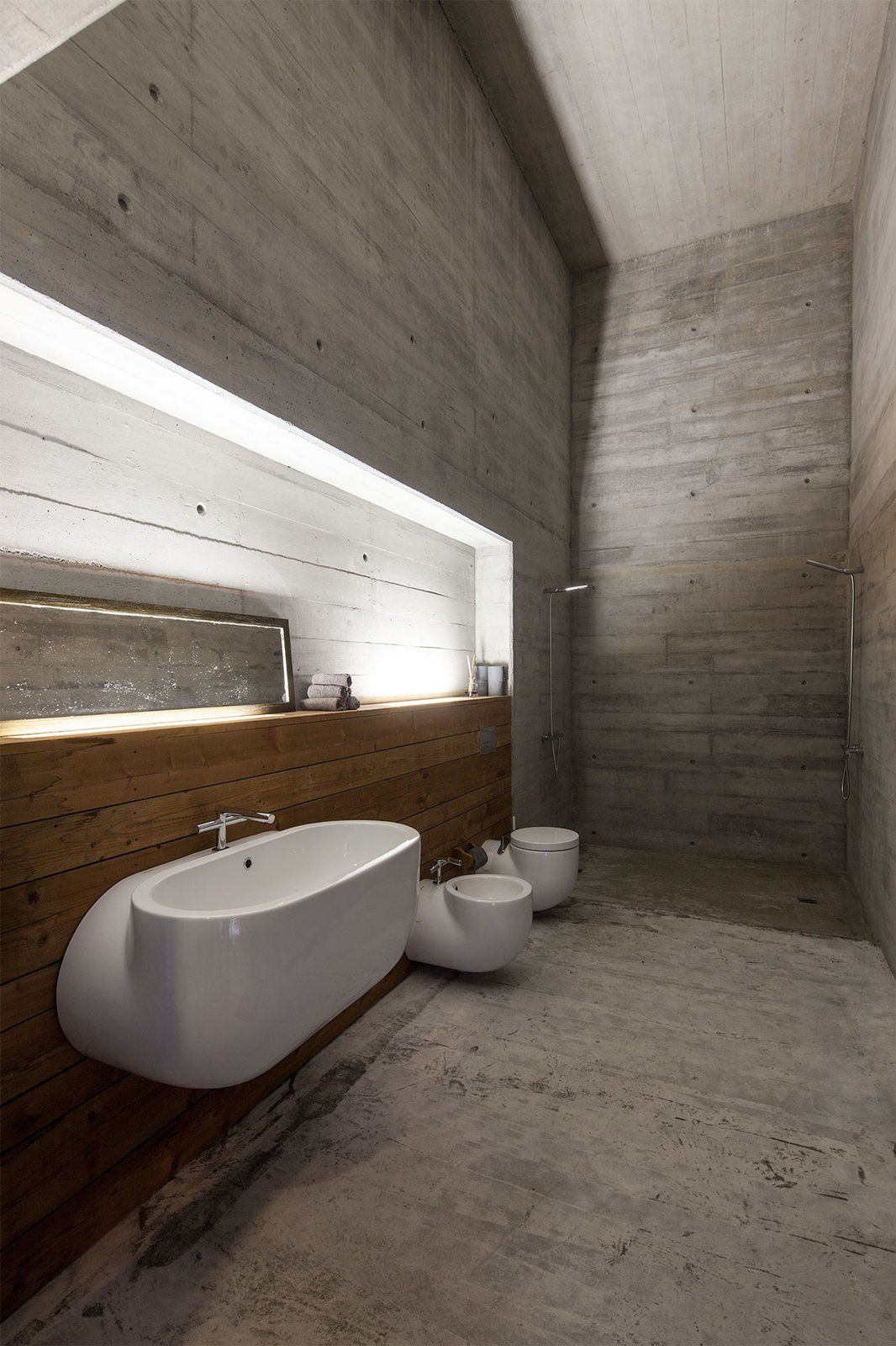 The lighting throughout the spaces is always meant to feel natural, without highlighting the actual fixtures