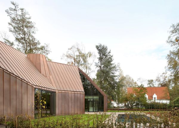 Copper clad house8