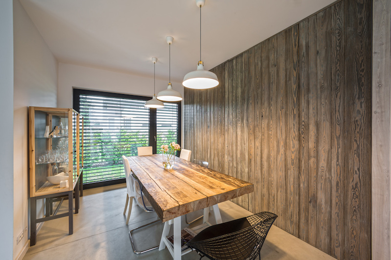 Fence House dining room