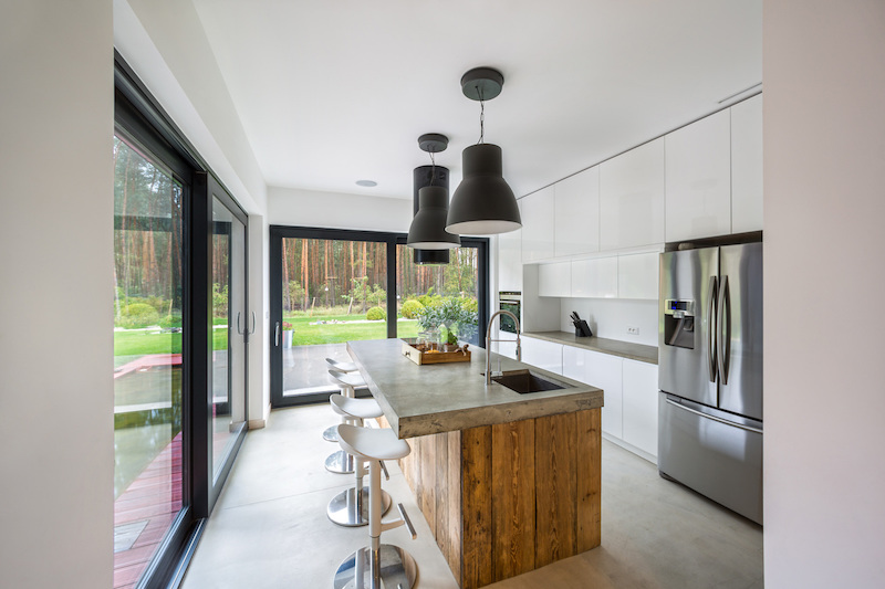 Fence House kitchen furniture