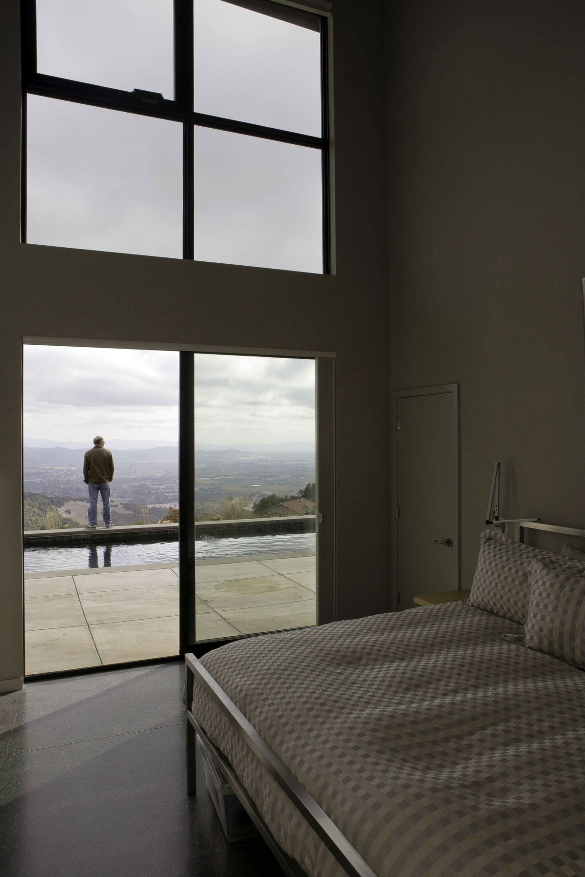 Fine Sips in Wine Country terrace adjacent to bedroom