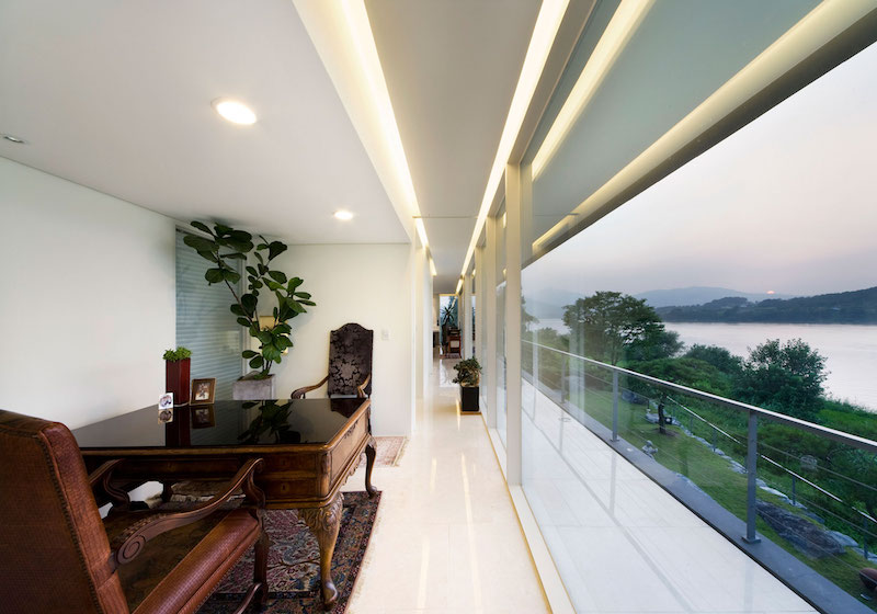 Floating House study view