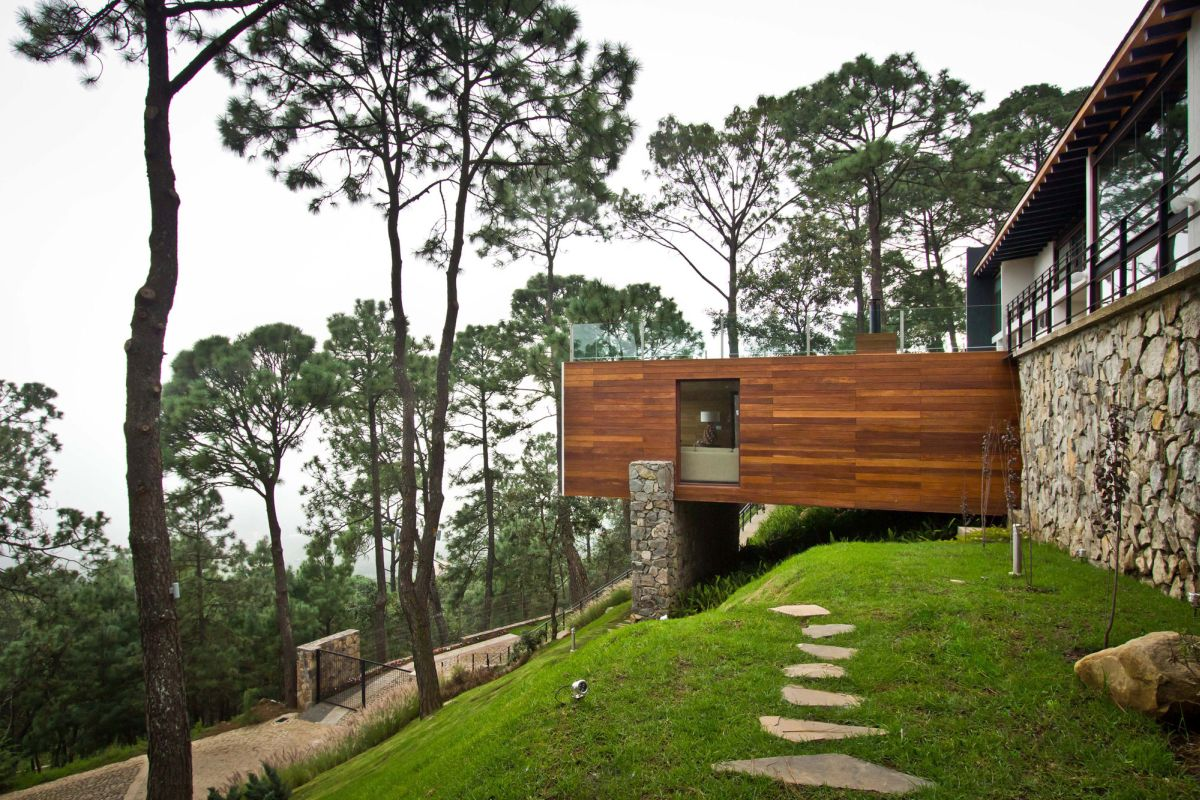 Forest House in Mexic View
