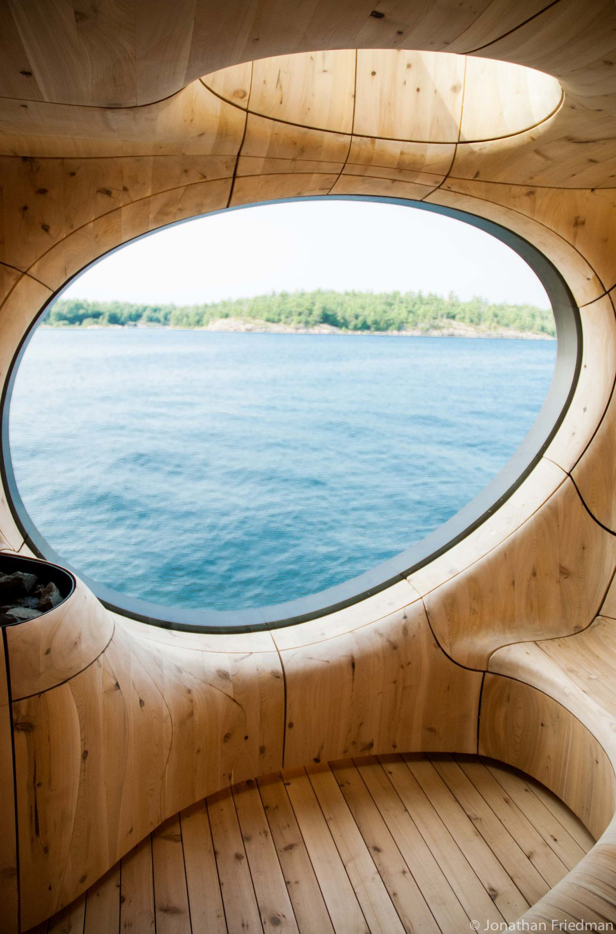 Grotto Sauna by Partisans View