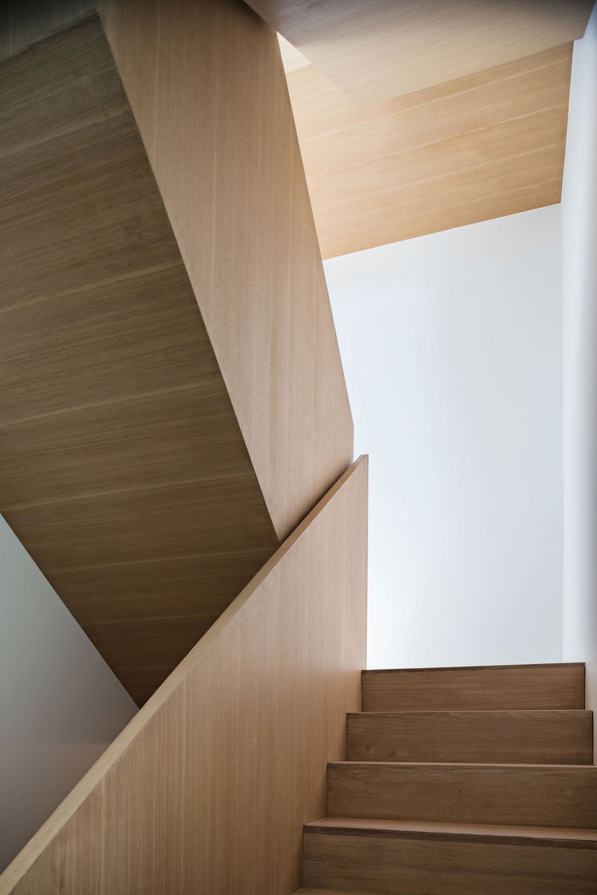 Heathdale Residence in Toronto staircase at the core