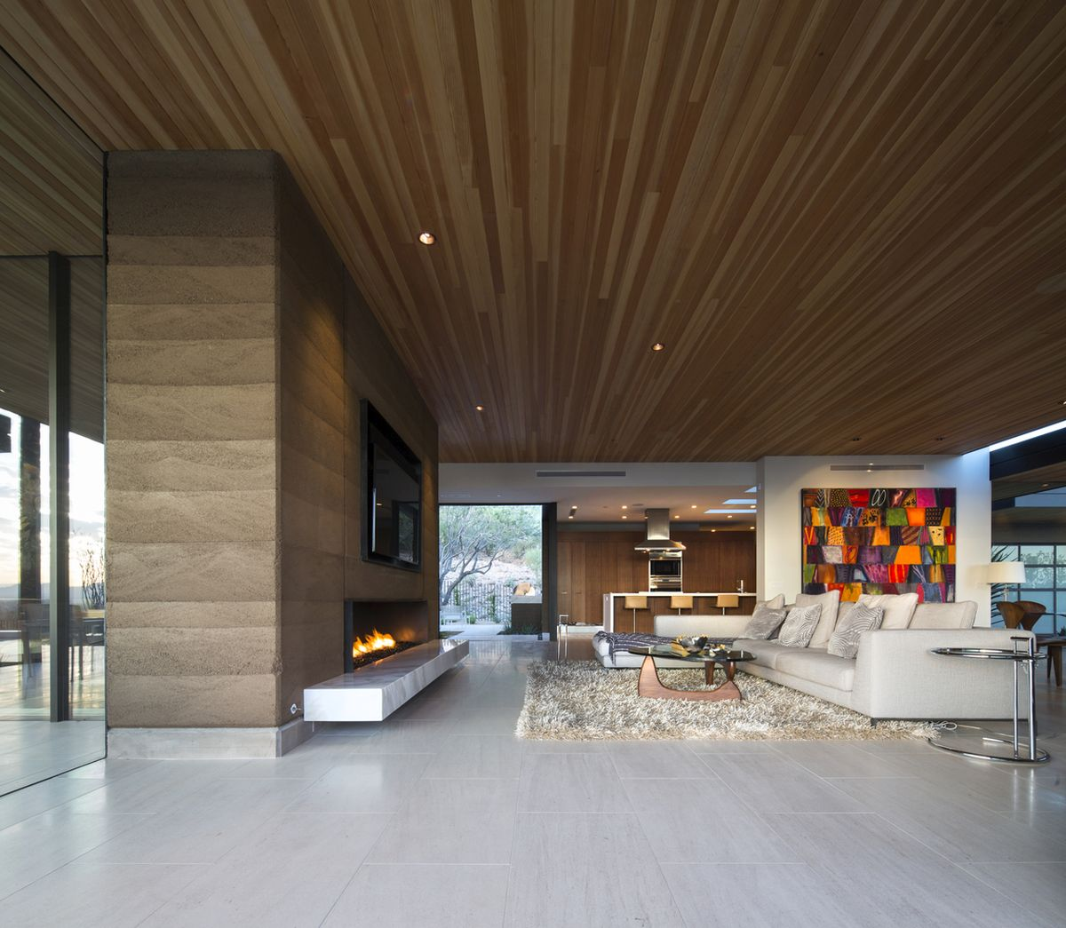 The interior design of the house is simple but also classy and elegant, featuring great attention to detail