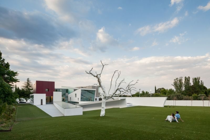 House H in Madrid overall view