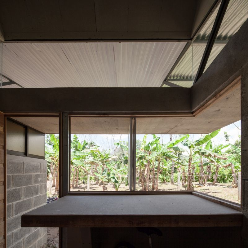 House V window view