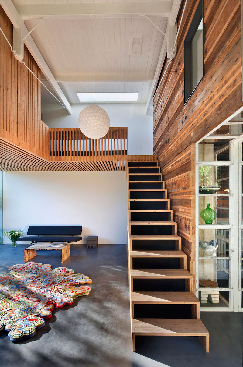 House of Rolf wooden staircase