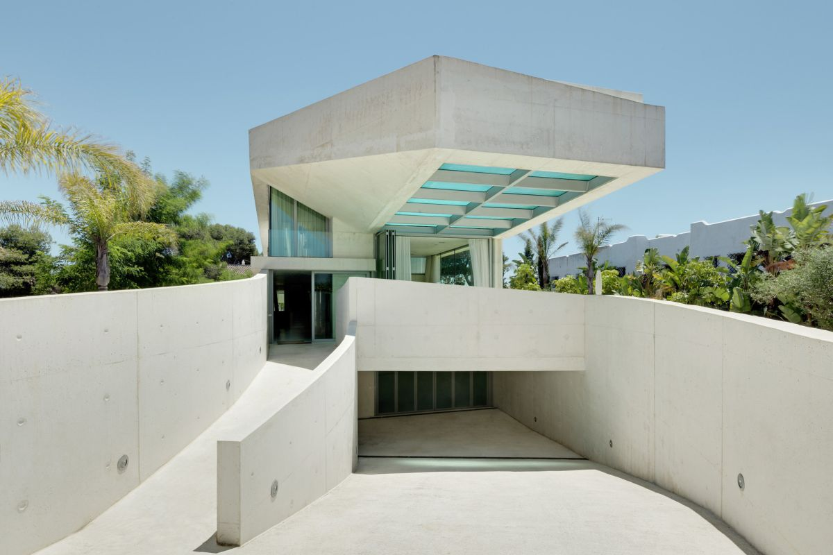 Jellyfish House Elevated Pool Wiel Arets Architects