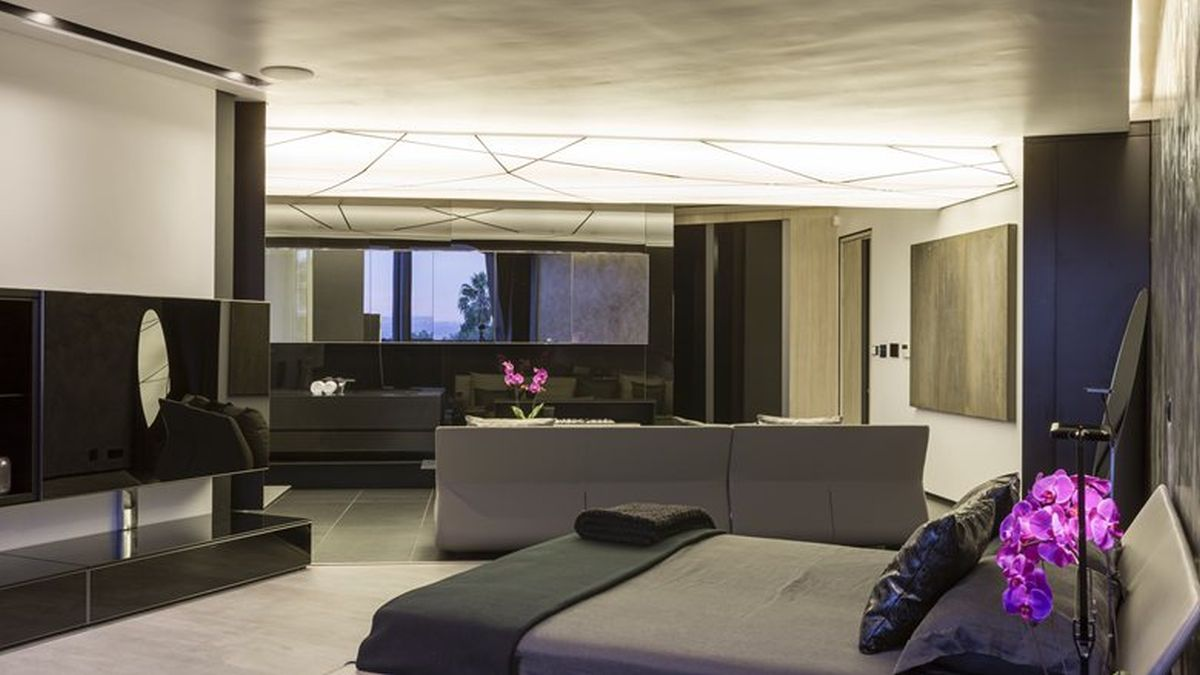 Kloof Road House project bedroom interior design