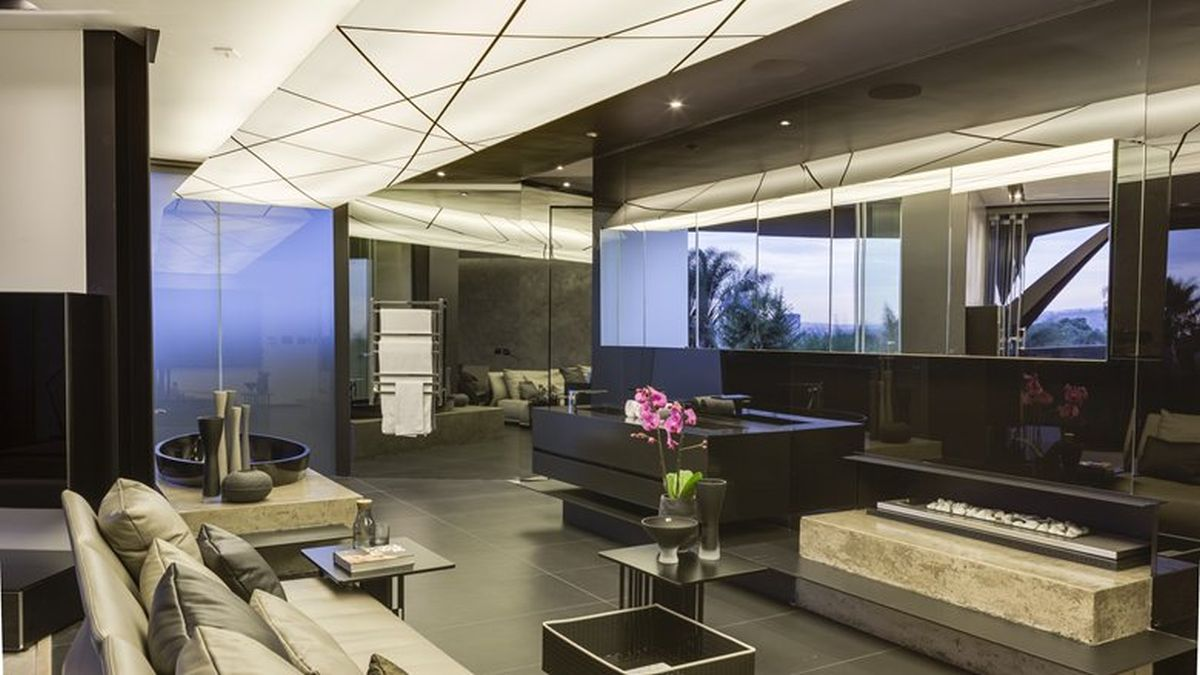 Kloof Road House project separate lounge