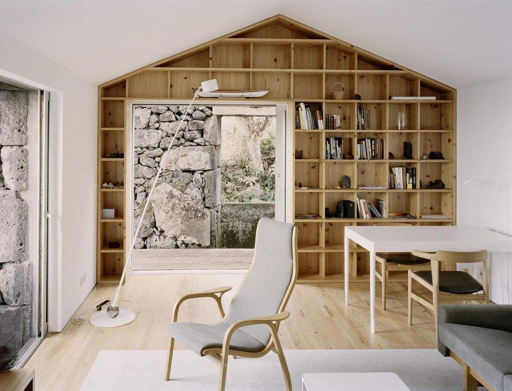 Living room from E-C House from SAMI-arquitectos