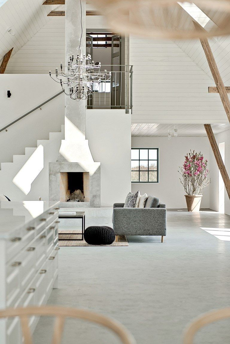 The house includes four bedrooms and a great room which is basically an open plan kitchen, dining room and lounge area