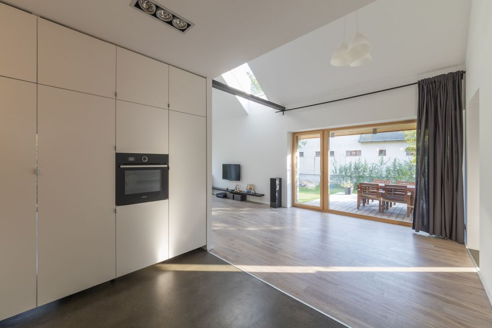 The redesigned layout increases the overall functionality of the house but also gives it an updated look