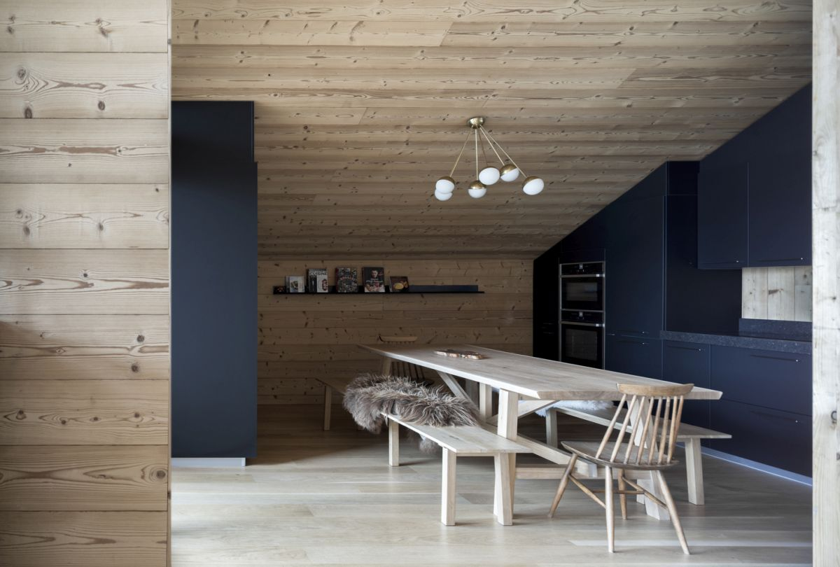 Wood is the primary building material and the main interior design finish for almost everything