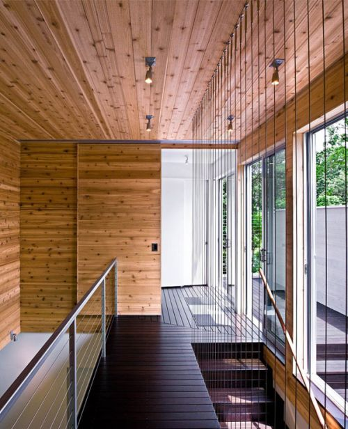 New York Modern Riverfront Home by Bates Masi Architects3