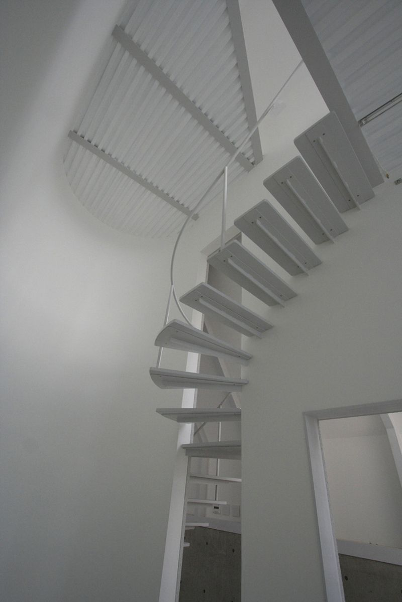 O House extension staircase