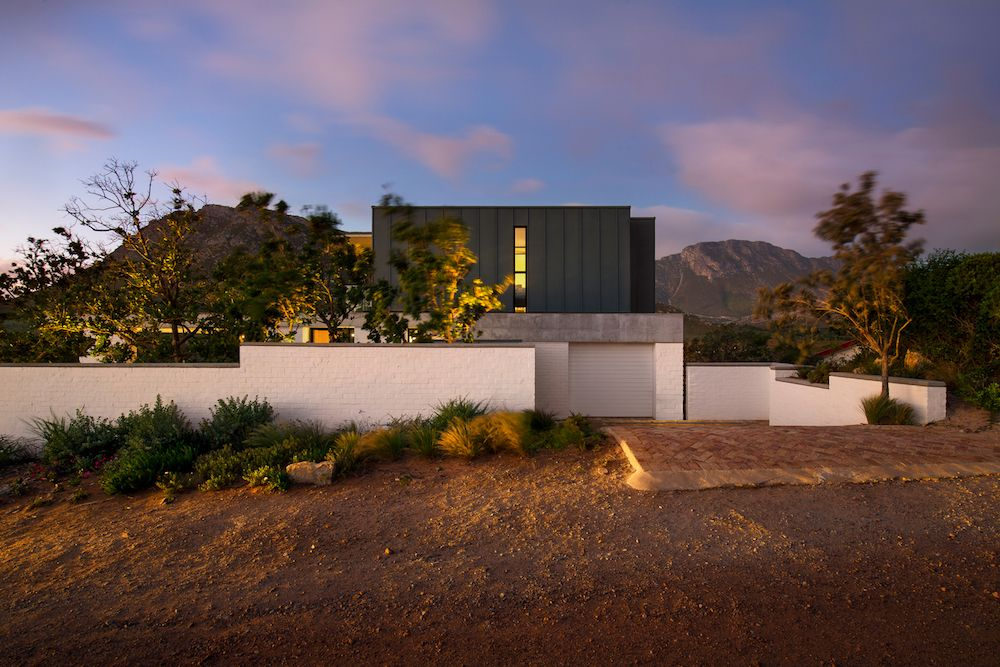 This is a holiday home designed with careful consideration for the site, the topography and the views