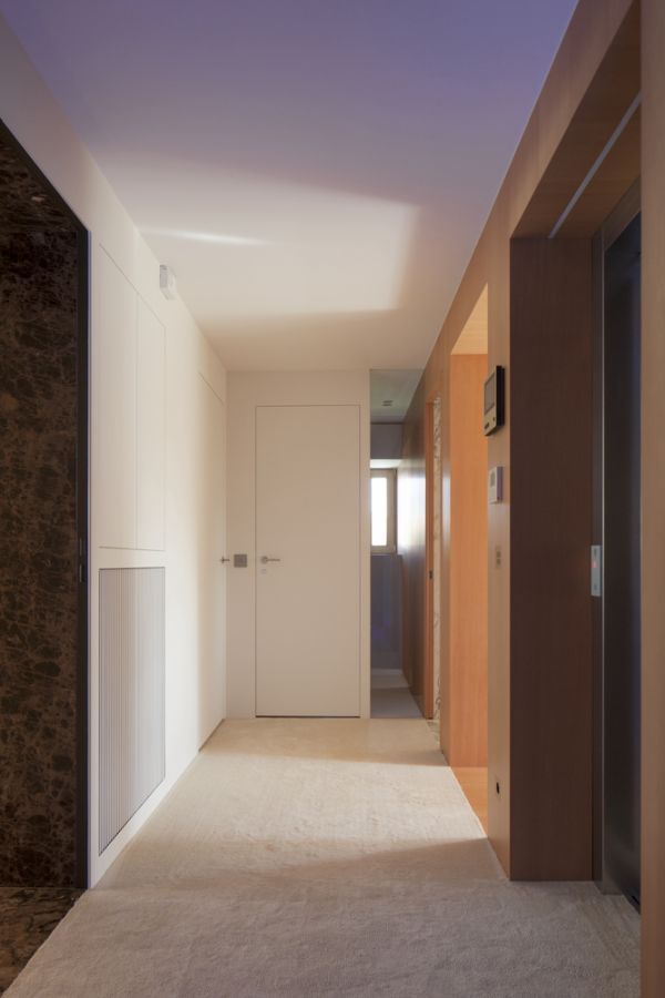 The interior design is fairly straight-forward and common compared to the exterior