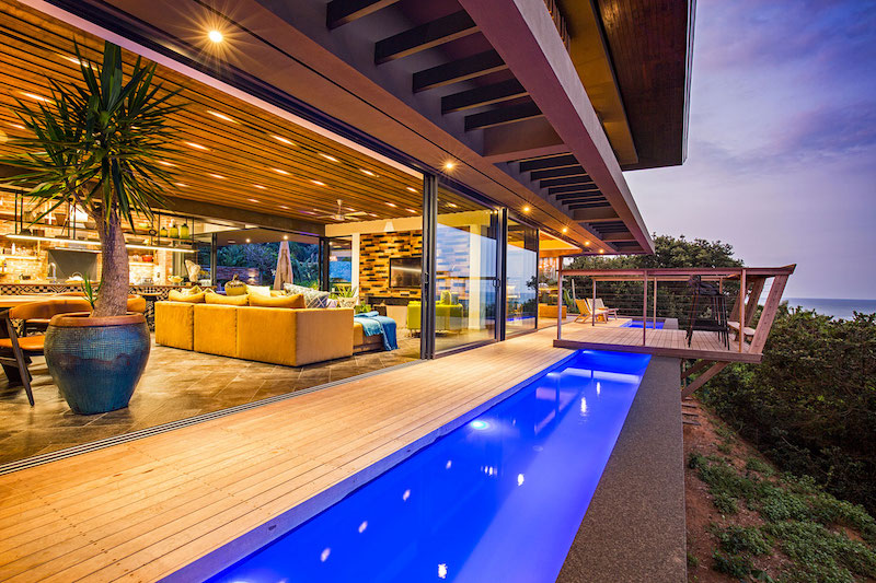 Reserve House pool and deck