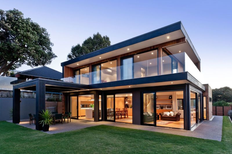 Rothesay Bay house architecture