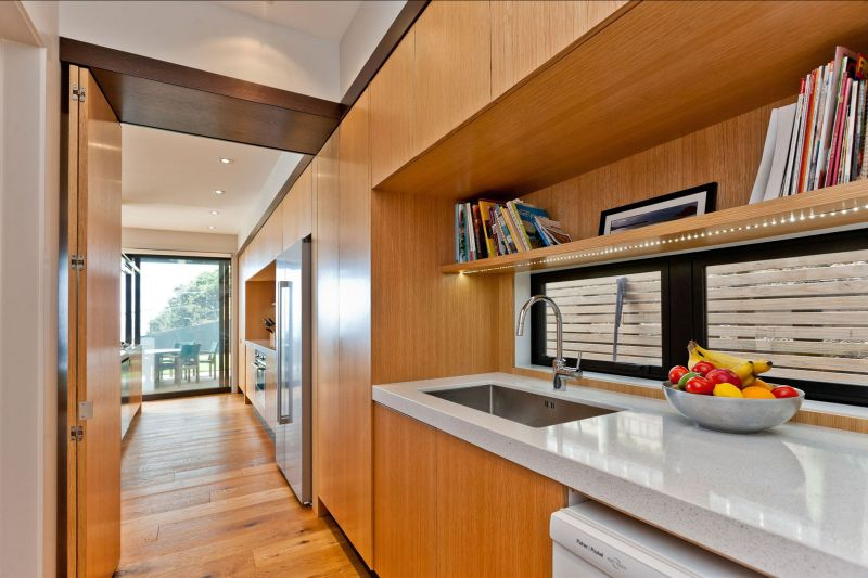 Rothesay Bay house kitchen counter