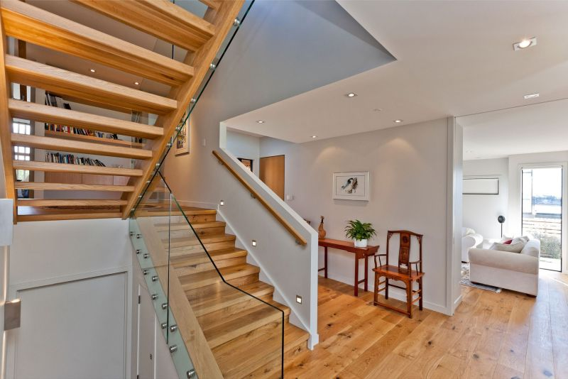 Rothesay Bay house staircse