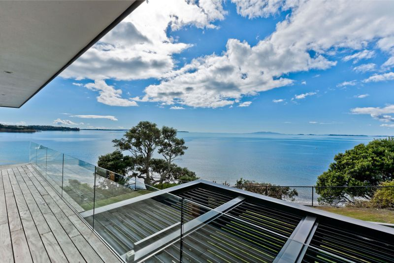 Rothesay Bay house view from terrace