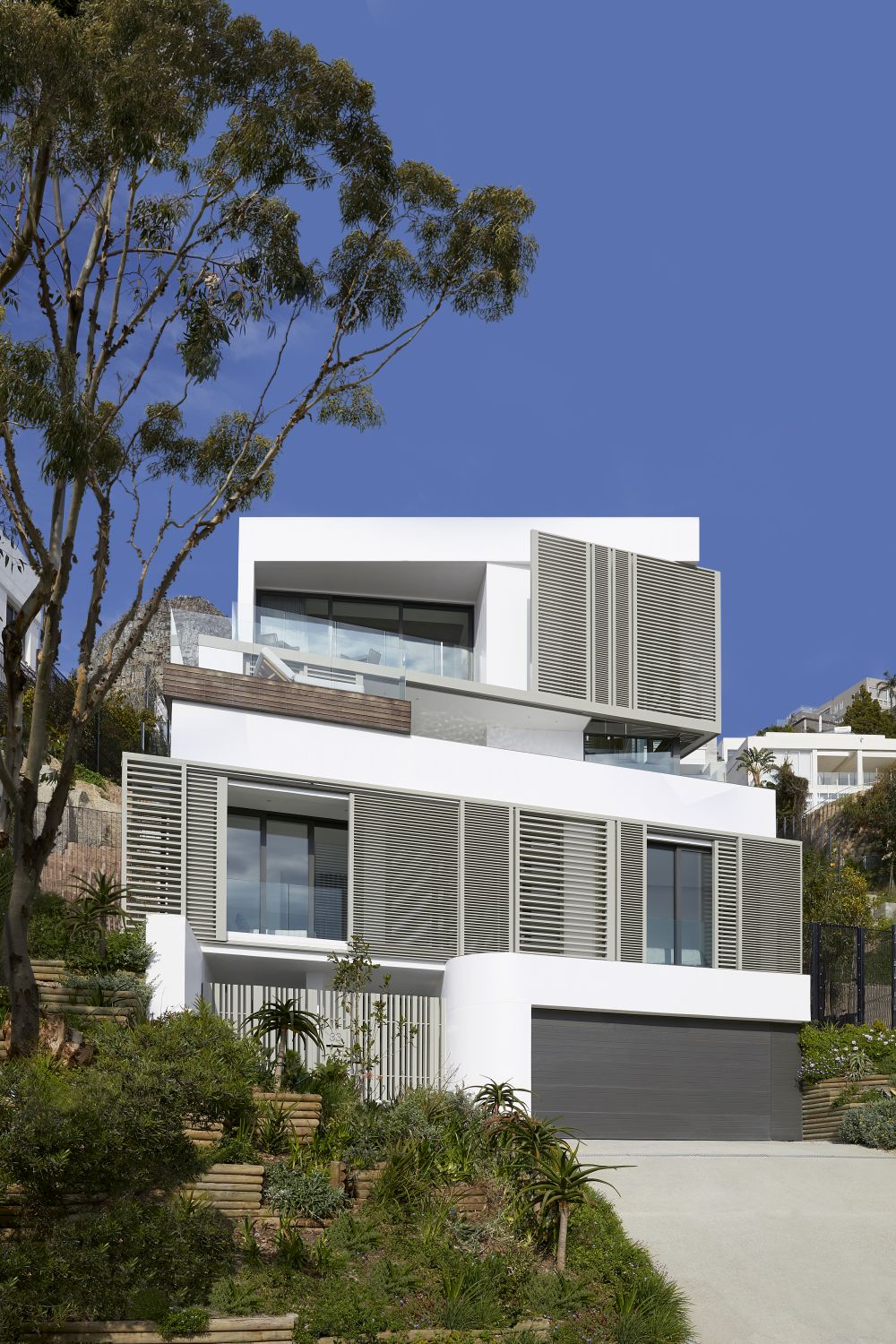 The City Heights project is a contemporary terraced home completed in 2018