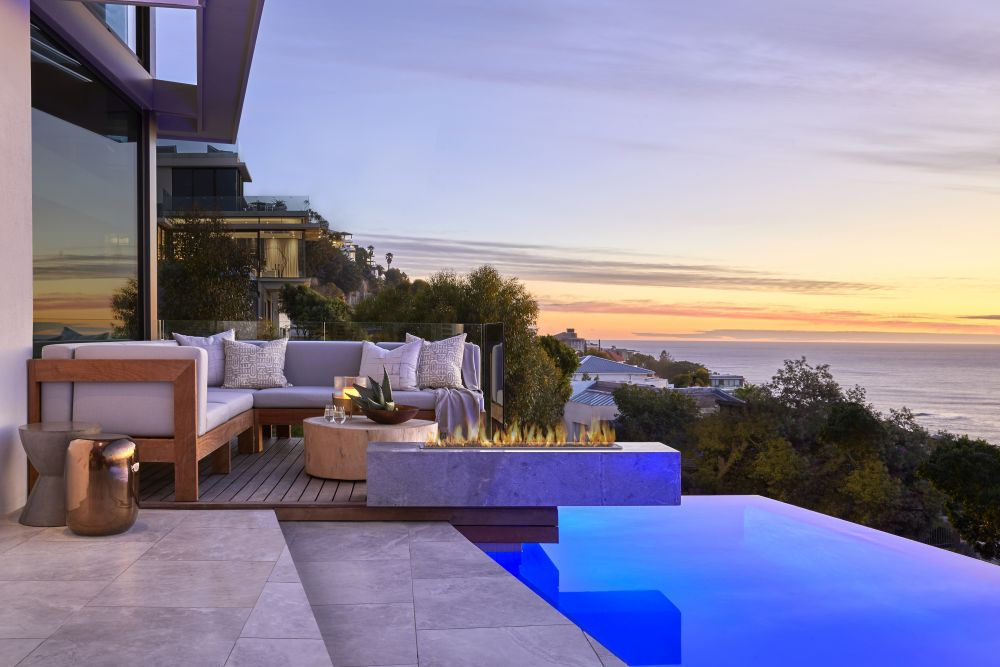 The views are exquisite, especially when enjoyed from one of the outdoor terraces