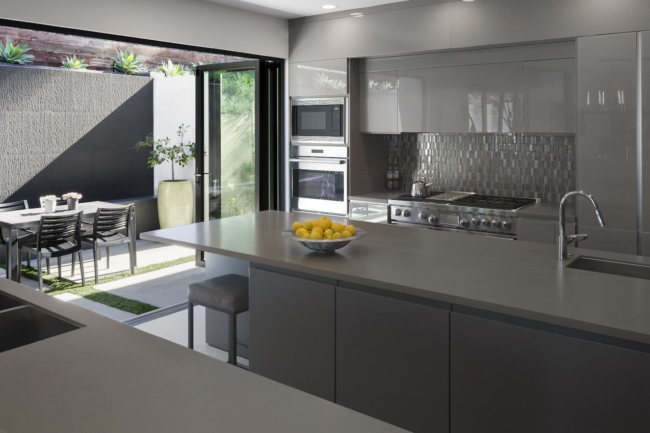 Monochrome gray is a very sophisticated palette.