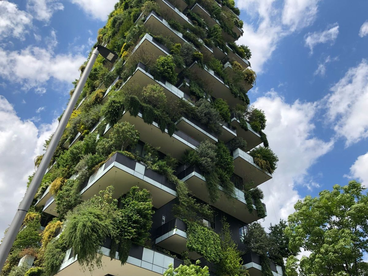 In total, these two residential towers have a surface of 40,000 square meters
