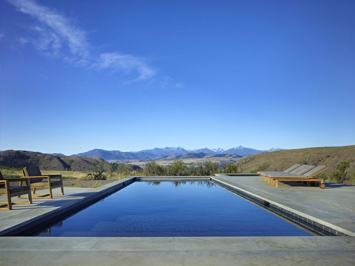 Studhorse residence view from pool