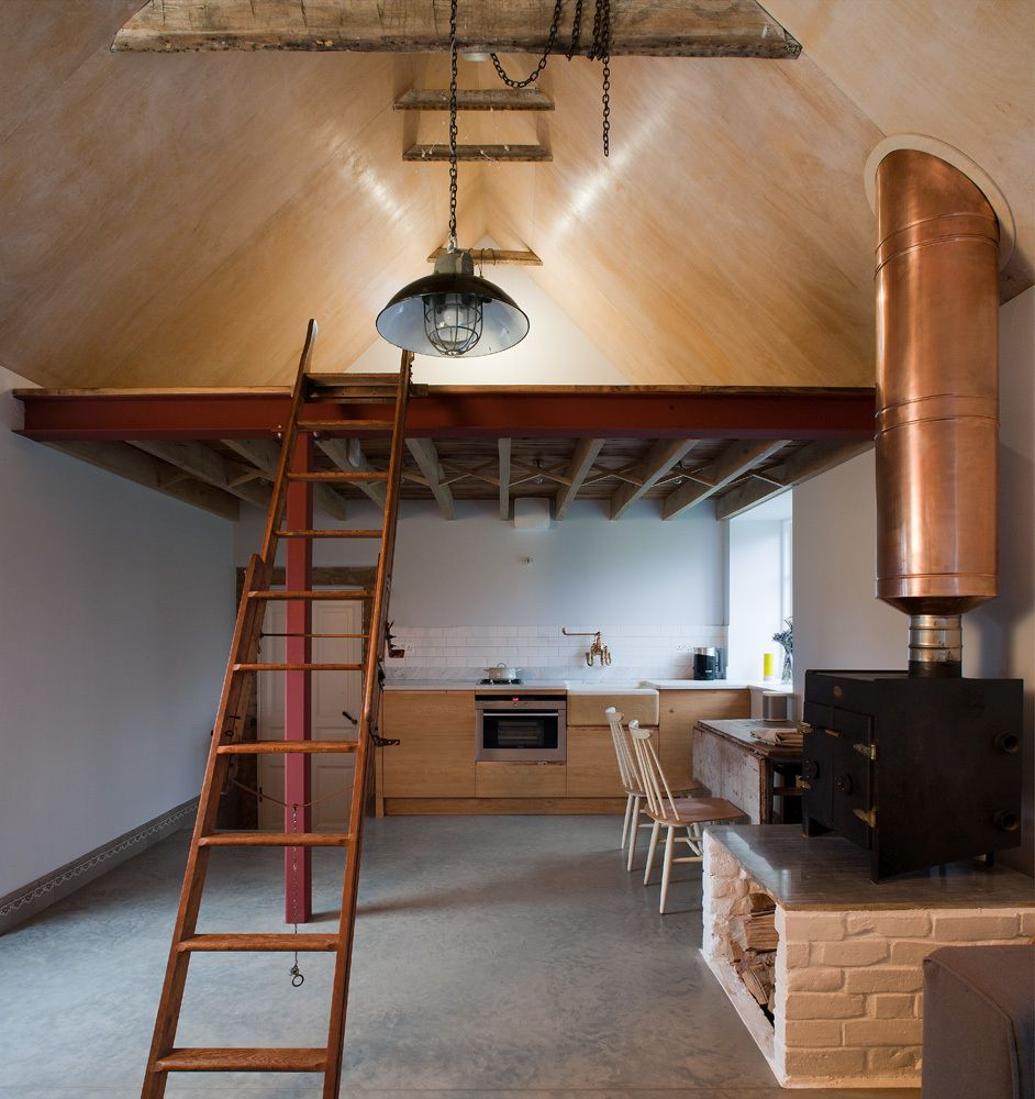 The Ancient Party Barn Kitchen